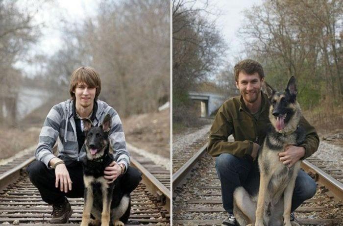 fotos de animales con sus duenos 10