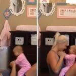 ejercicio con bebes