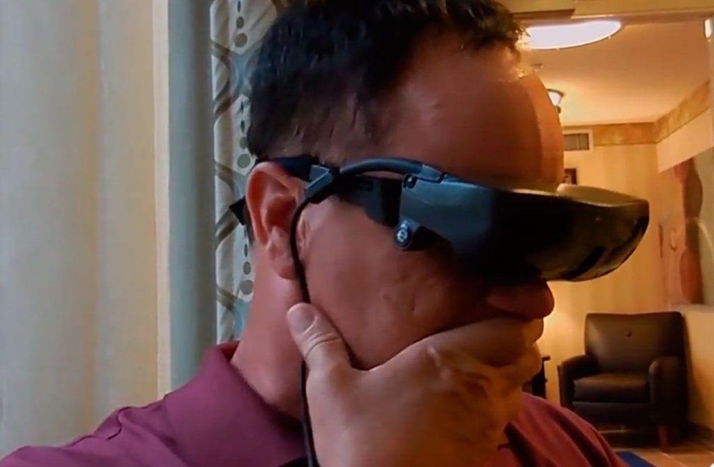 hombre ciego vuelve ver esight