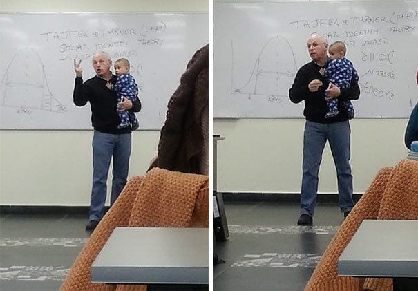 profesor y bebe 2