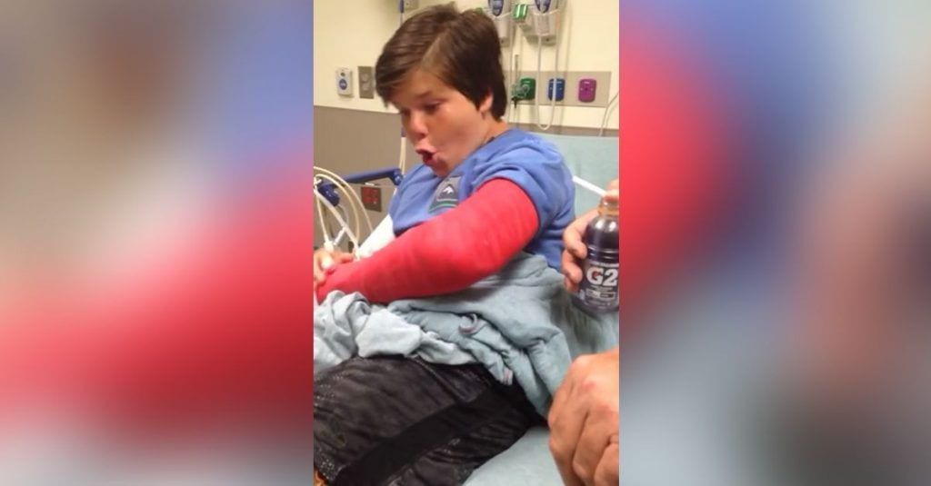 chico anestesia brazo