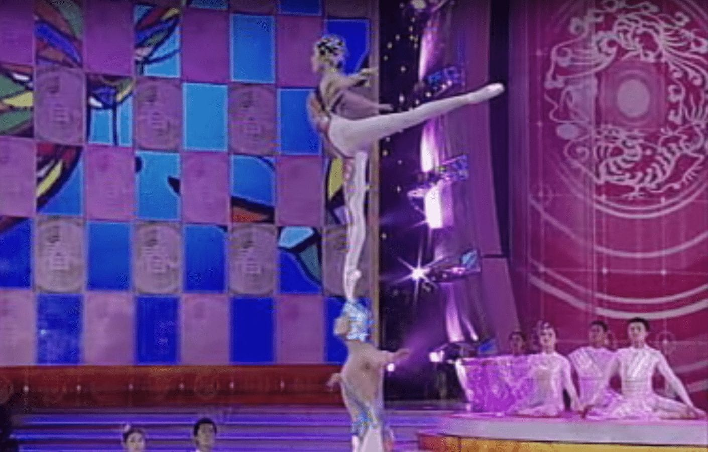 coreografia china