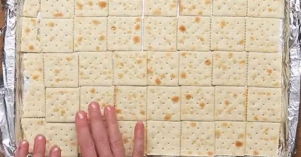 tableta crackers chocolate