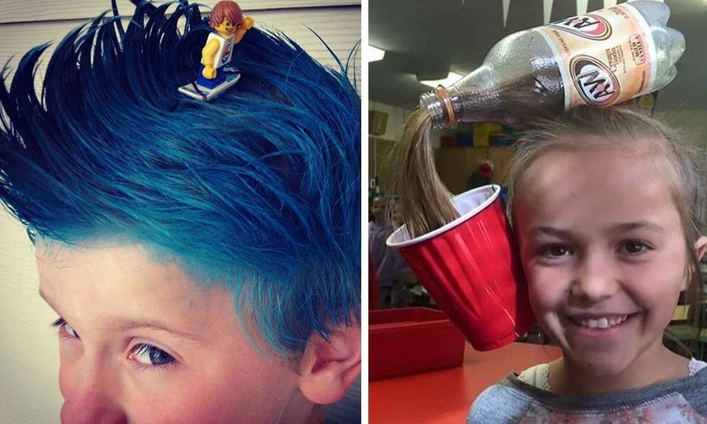 Los Peinados Infantiles Ma S Originales Y Divertidos