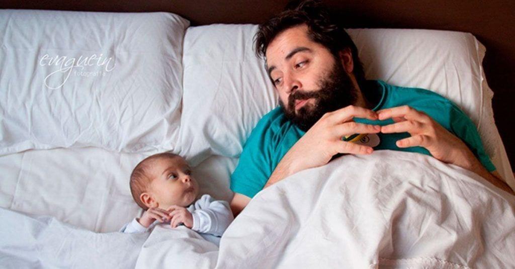 padres bebes