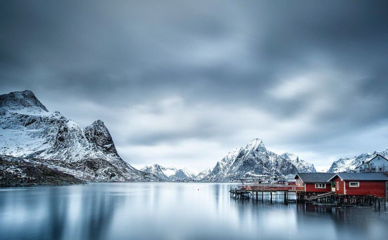 Landscape in Nothern Norway