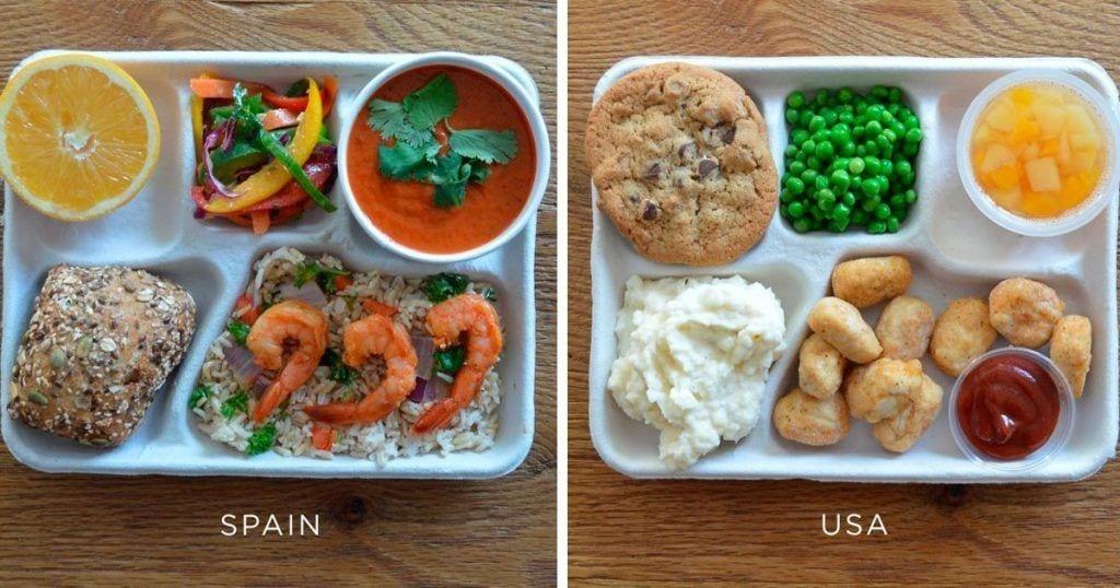 comida colegios