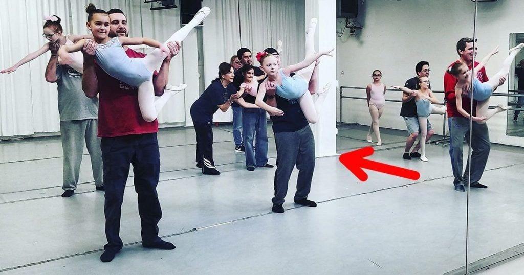 padres hijas ballet