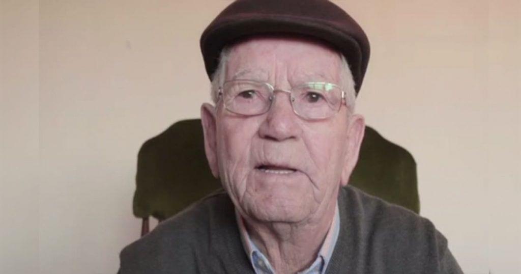 Este anciano nos da una sabia lección sobre la vida