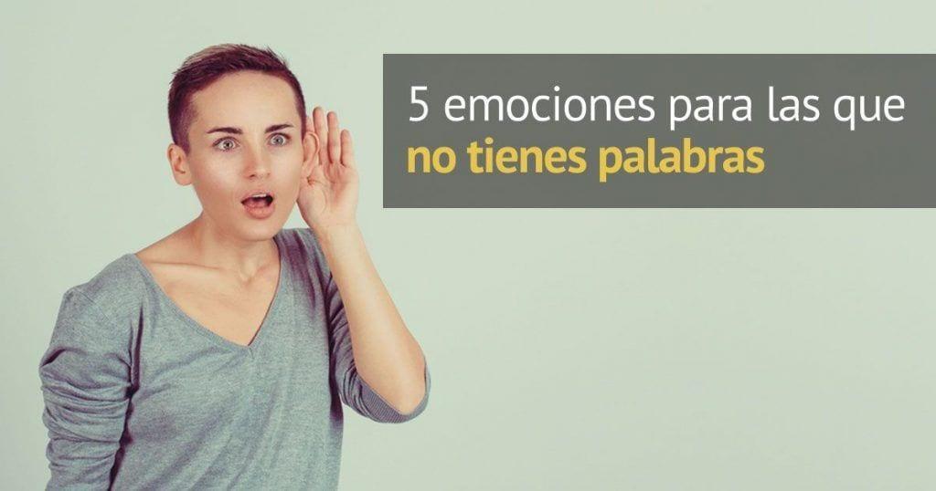 palabras espanol emociones