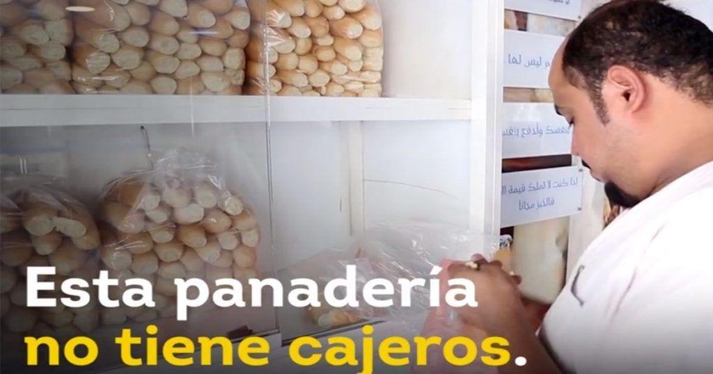 En esta panadería no tienen que pasar por caja