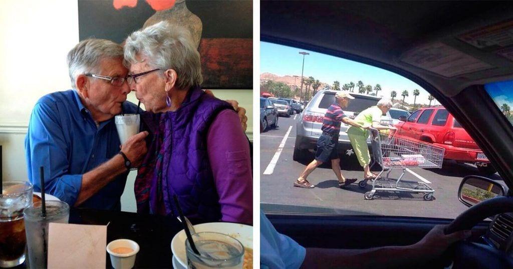 10 parejas de ancianos que demuestran que el amor dura para siempre
