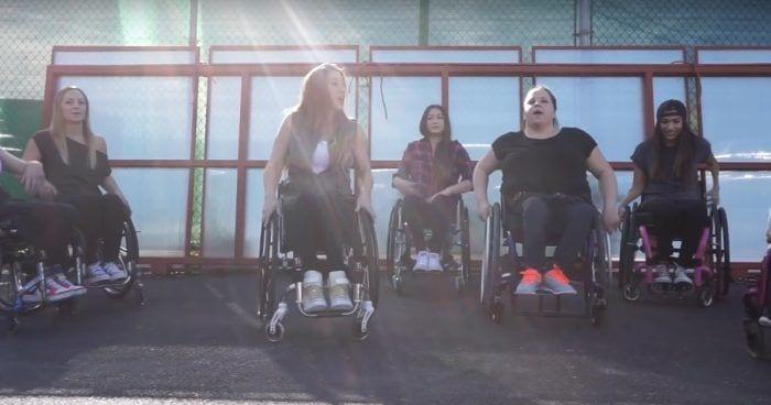 baile silla ruedas