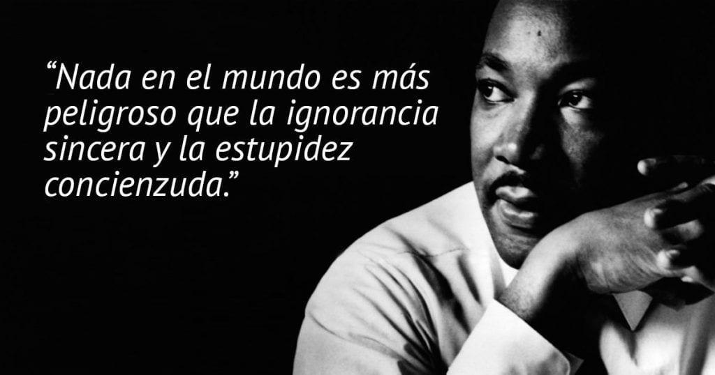 10 frases de Martin Luther King que no debemos olvidar