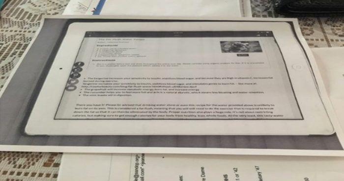 fotocopia iPad