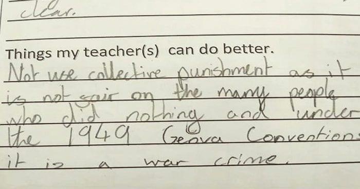 nota nina profesor