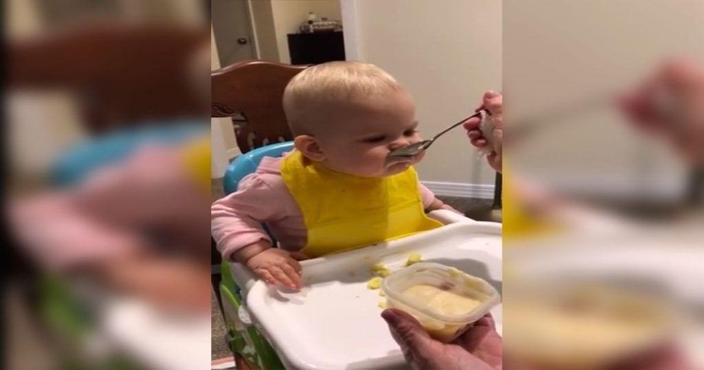 comiendo con cuchara