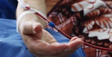 donante sangre destacada