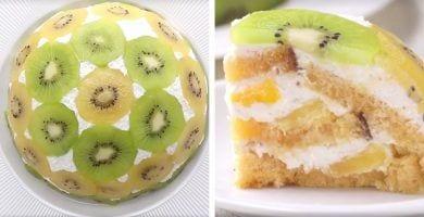 tarta fruta destacada