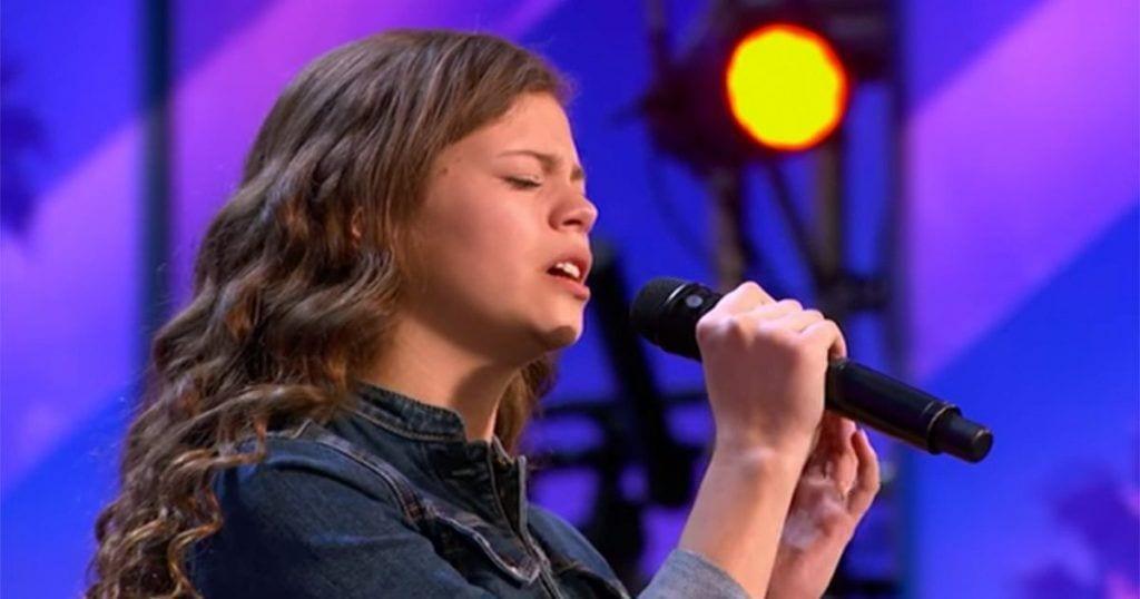 La emocionante actuación de esta niña que le valió el pase directo a la final de America's Got Talent
