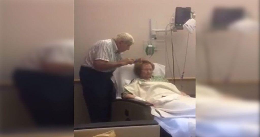 Este anciano tiene un detalle muy especial con su esposa enferma que demuestra lo qué es el amor verdadero