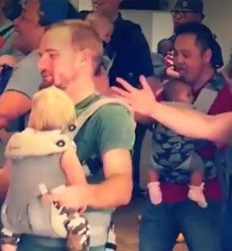 baile padres e hijos