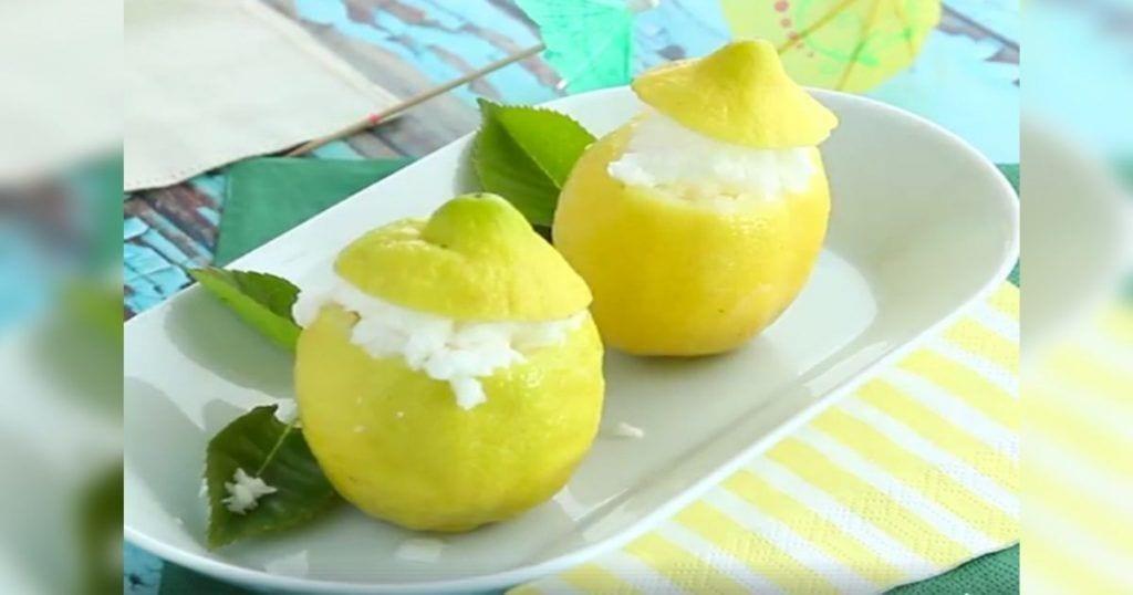 postre limon