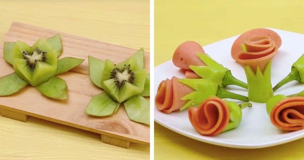 trucos presentacion fruta