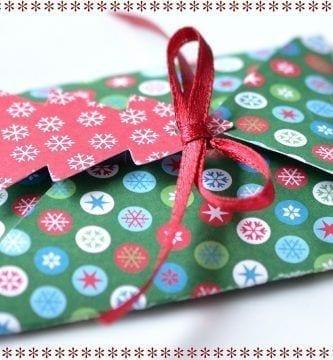 regalo navidad sobre
