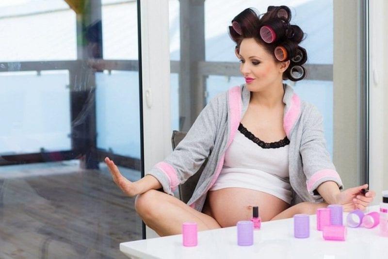 embarazo belleza