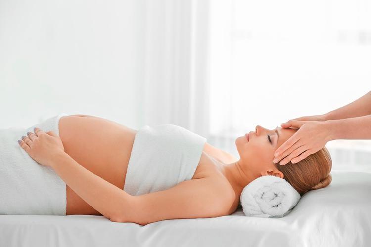 embarazo masaje